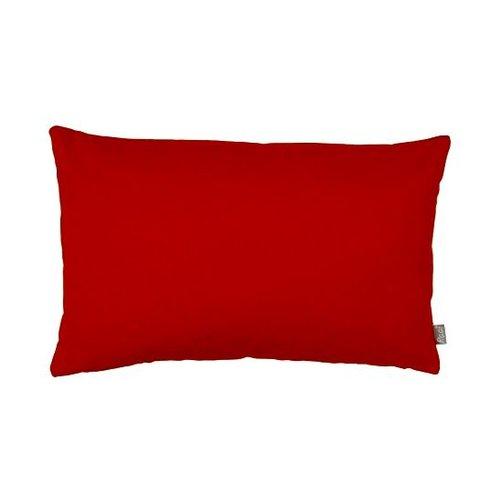 Raaf Sierkussenhoes Suedine rood-oranje 40x60 cm