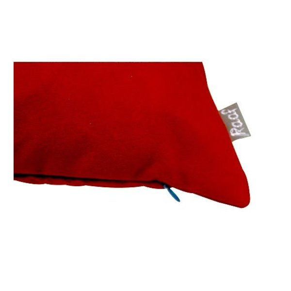 Cushion cover Suedine red-orange 40x60cm