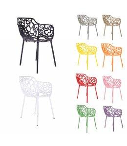CastMagnolia Cast Magnolia chair Black/White (with armrests)