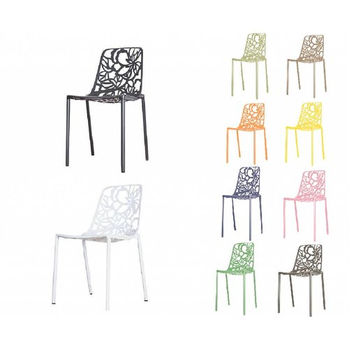 CastMagnolia Cast Magnolia chair Black/White (without armrests)