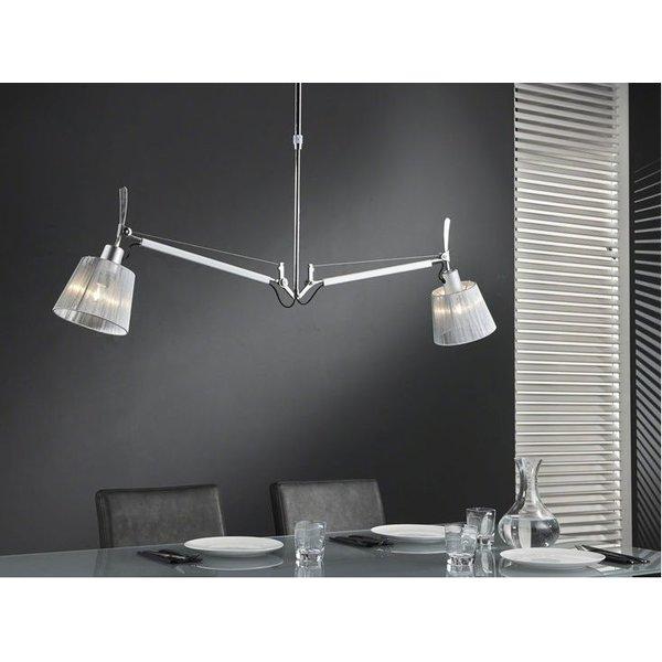 Hanging lamp 2L multiflex Chrome