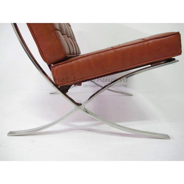 Design - Barcelona chair cognac