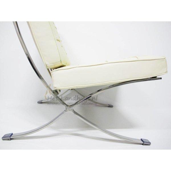 Design - Barcelona chair creme