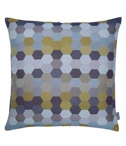 Raaf Cushion cover Mirror mustard 50 x50 cm