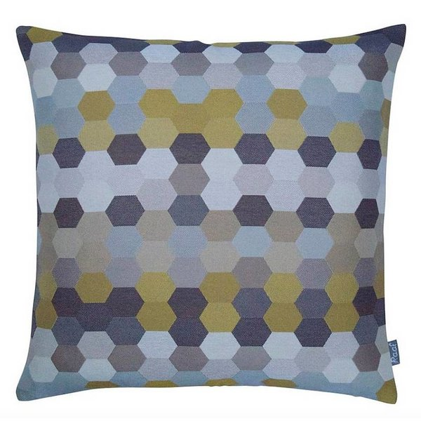 Raaf - Cushion cover Mirror mustard 50 x50 cm