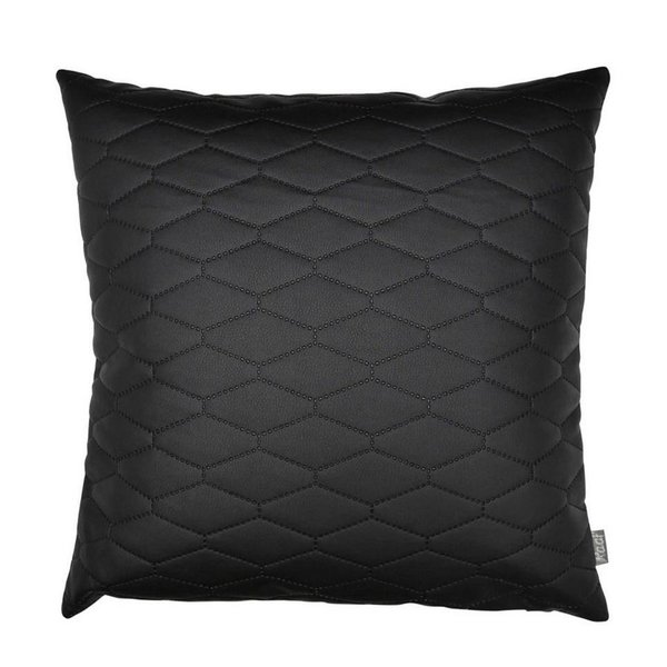Cushion cover Madrid black (50x50 cm)