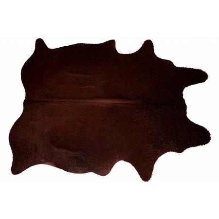 Het Landhuys Cowhide Choco Mystery 200 x 140 cm