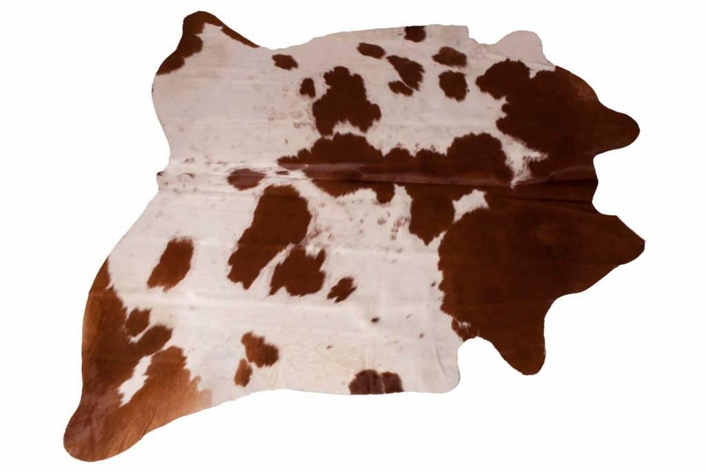 Kussens gemaakt van koeienhuid opgezette dieren jachttrofeeen