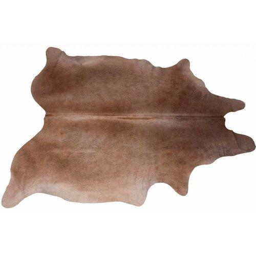 Het Landhuys Cowhide brown mix 200 x 140 cm