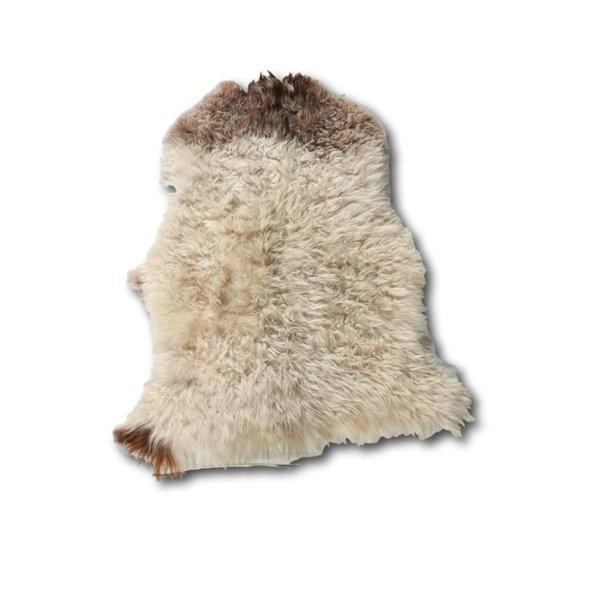 Curly Sheepskin Brown Heads