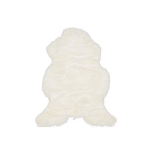 Het Landhuys Sheepskin Basic white