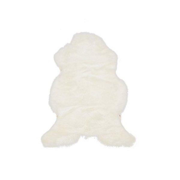 Schapenvacht wit 85 x 65 cm