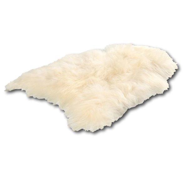 IJslandse schapenhuid wit