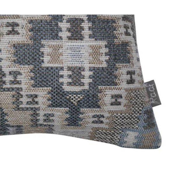 Sierkussenhoes Ethnic blauw 50x50