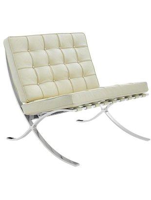 Het Landhuys Design - Barcelona chair creme