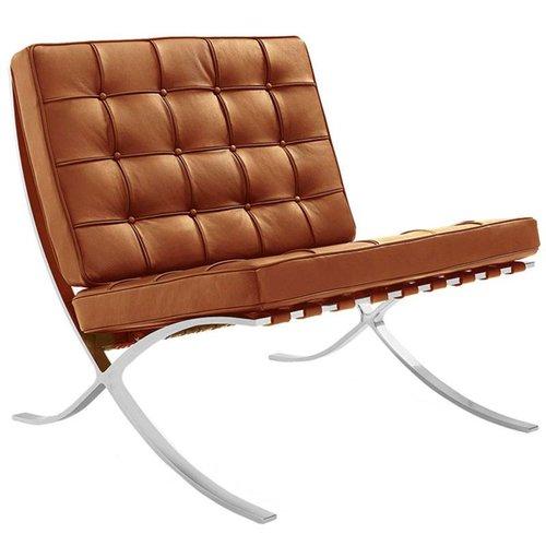 Het Landhuys Barcelona chair cognac | Premium edition