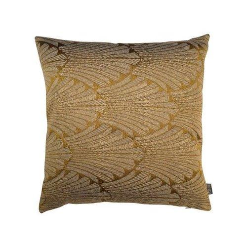 Raaf Art Deco yellow cushion cover