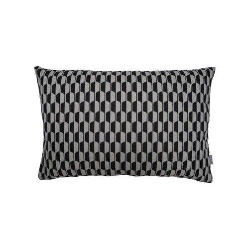 Raaf Sierkussenhoes Schild zwart 40x60 cm
