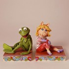 Disney Traditions Kermit & Miss Piggy Bookend