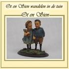 Ot en Sien Wandelen in de tuin