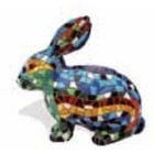 Barcino Design Rabbit Mosaic