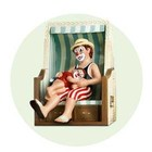 Gilde Clowns Daddy's Beach Chair