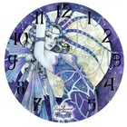 Linda Ravencroft Blue Moon Clock