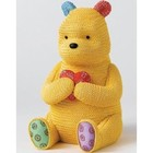 Classic Pooh (BO) Pooh Savingsbank (knitted)
