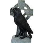 Studio Collection Raven on Celtic Cross