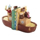 Pooh & Friends Pooh & Piglet Pirate Bookend