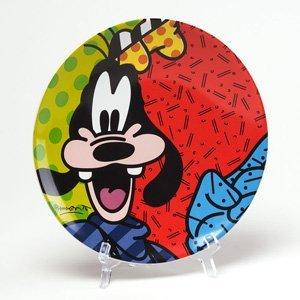 Disney Britto Plate Goofy