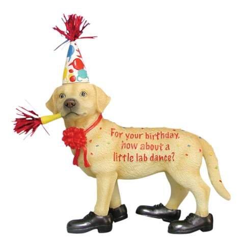 ... (Happy Birthday) Labrador Happy Birthday - Friends 2 Hold On Webshop