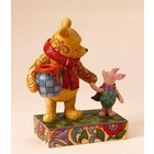 Disney Traditions Pooh & Piglet Together Forever