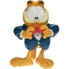 Cartoon Sculpture Garfield in Tux
