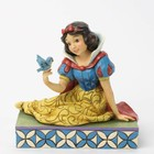 Disney Traditions Snow White with Bird