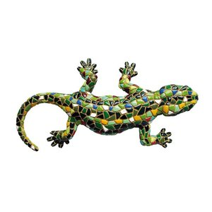 Barcino Design Salamander Groen (Mozaiek effect)