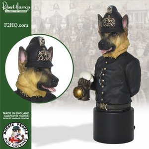 Robert Harrop German Shepherd, Policeman Buste