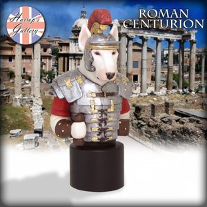 Robert Harrop Bull Terrier, Roman Centurion (Bust)
