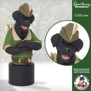 Robert Harrop Black Labrador, Robin Hood (Buste)