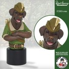 Robert Harrop Chocolate Labrador Robin Hood