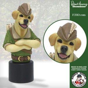 Robert Harrop Yellow Labrador, Robin Hood (Buste)