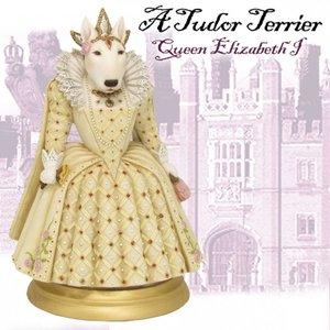 Robert Harrop White Bull Terrier Female - Queen Elizabeth I