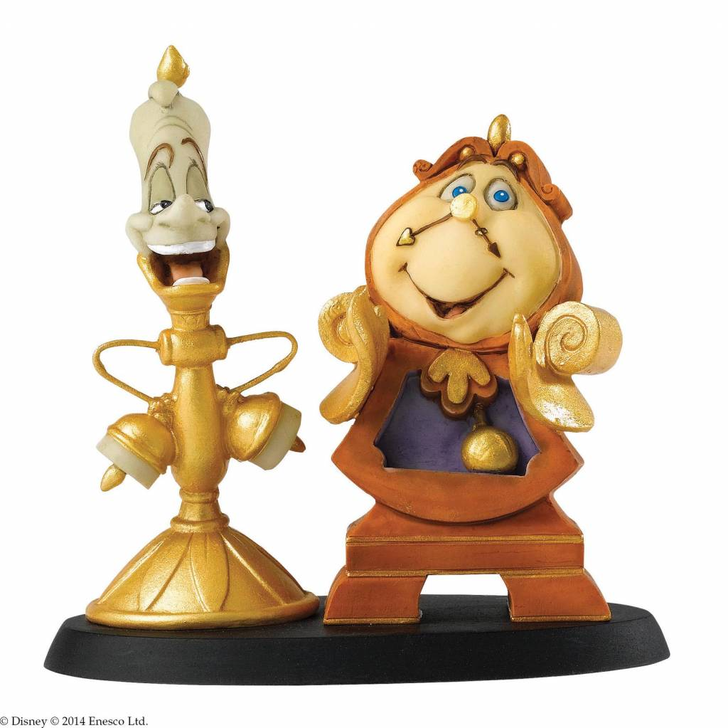Disney Enchanting Cogsworth And Lumiere Loyal Servants