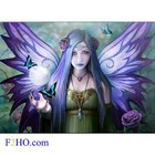 Anne Stokes Glass Picture Mystic Aura
