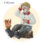 Gilde Clowns Clown met Eekhoorn
