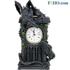 Studio Collection Duelling Dragons Clock