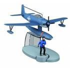Tintin (Kuifje) Blue seaplane
