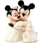 Disney Lenox Minnie's Dream Wedding Cake
