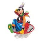 Disney Britto Goofy in Disc Sled