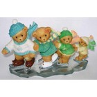 Cherished Teddies Louis,Florice,Amie,and Vicky
